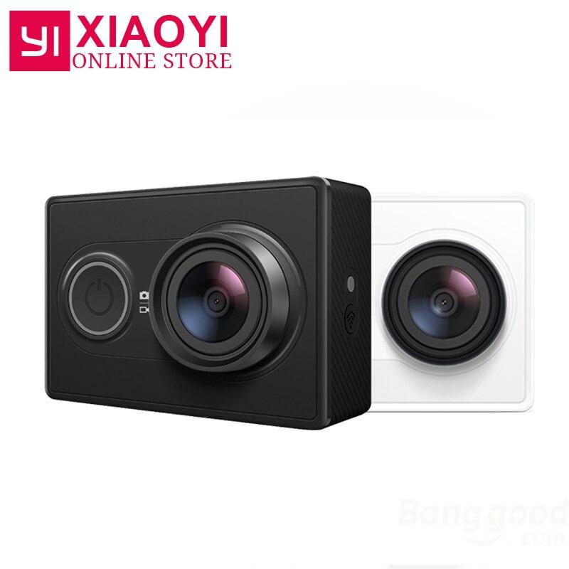 [International Edition] Original YI Riduzione del Rumore 3D WiFi Macchina Fotografica di Azione Macchina Fotografica di Sport Xiaomi Xiaoyi 16MP 60FPS Ambarella A7LS