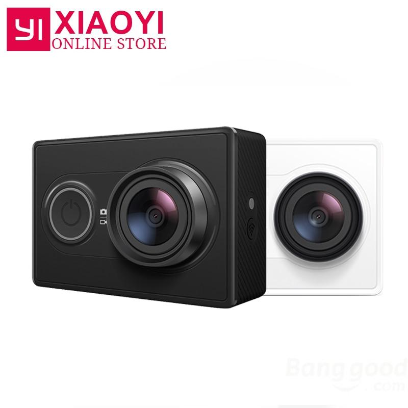 [International Edition]Original YI Sports Camera Xiaomi Xiaoyi Action Camera WiFi 3D Noise Reduction 16MP 60FPS Ambarella A7LS free shipping xiaoyi sport action travel camera ambarella a7 16mp 1080p 1010mah wifi bluetooth4 0 sj5000 style