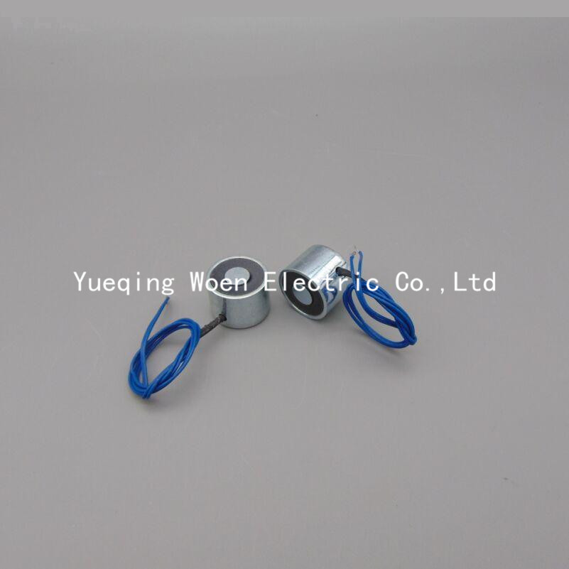 Free Shipping P80/38 Holding Electric Magnet , Lifting 100KG 1000N Solenoid Electromagnet 24VDC or 12VDC HCNE1-P80/38