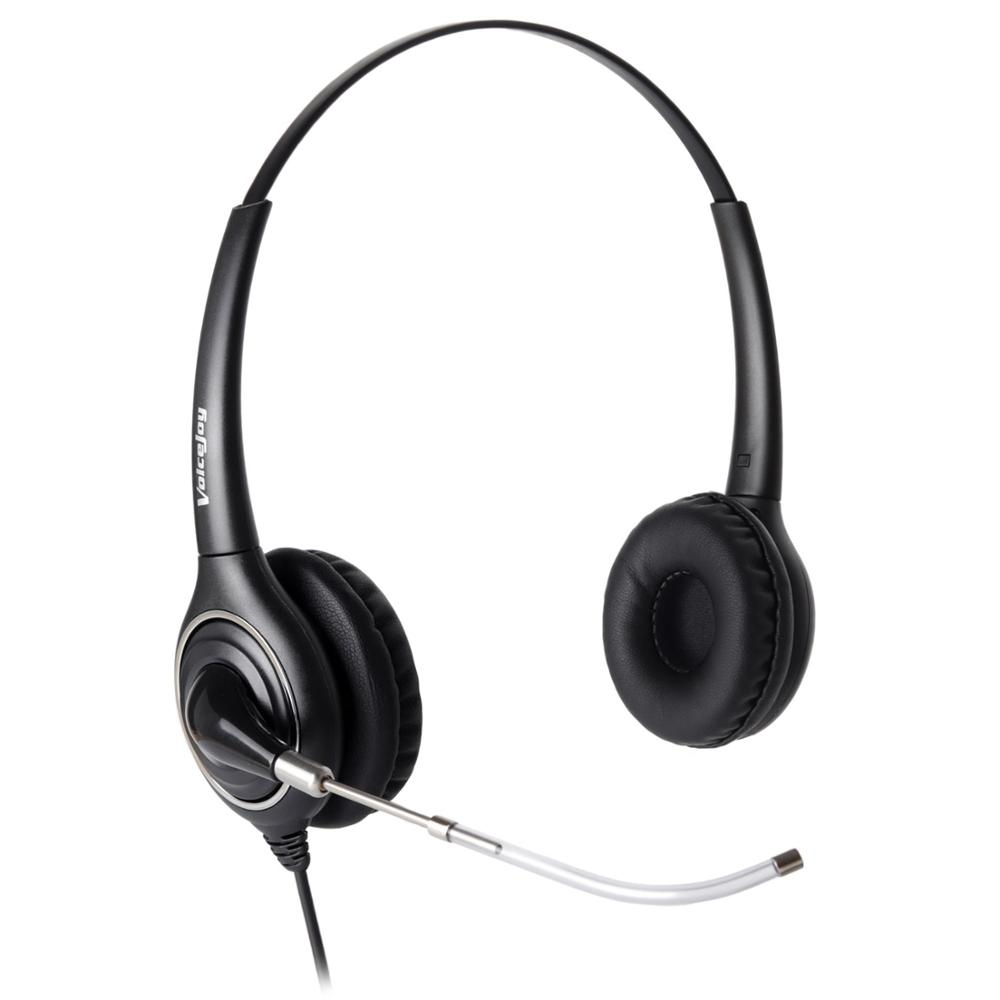 Home/Office Headset With Mic For Avaya 2400 4600 Series