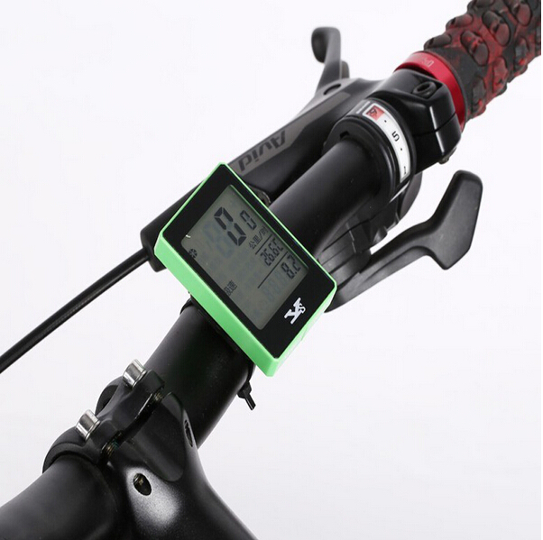 New Waterproof wireless Bike Bicycle Computer Cycling Odometer Speedometer Touch Button LCD Backlight Backlit stopwatch BCP0002