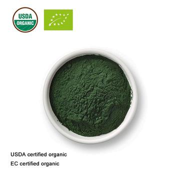 Certyfikat USDA i EC organiczna Spirulina w proszku ekstrakt Spirulina spożywczy tanie i dobre opinie Utrata masy ciała kremy Pierścień magnetyczny toe 100g