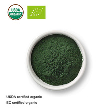 USDA และ EC Certified organic Spirulina powder สารสกัดจากสาหร่ายสไปรูลิน่าเกรดอาหาร