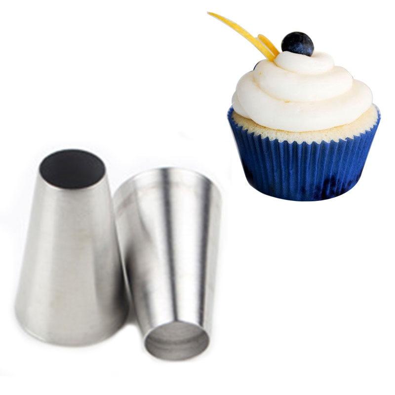 Aliexpress.com : Buy #1A Large Round Metal Cake Cream ...