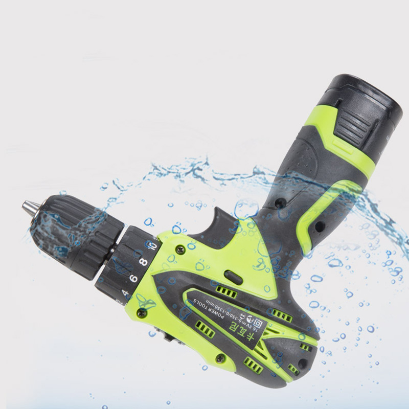 12V Electric Screwdriver Lithium Battery Rechargeable Electric Drill Screwdriver Multi-function Cordless Screwdriver Power Tools