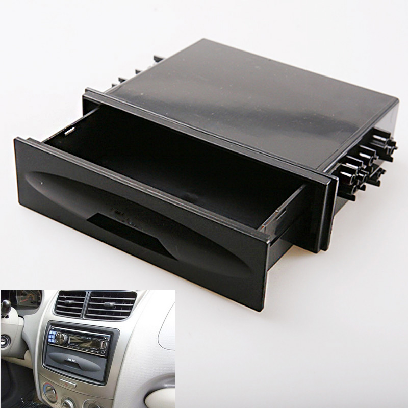 Brand New Universal Car auto Single Din Dash Radio Installation for Pocket Kit Storage Box for Cx-38