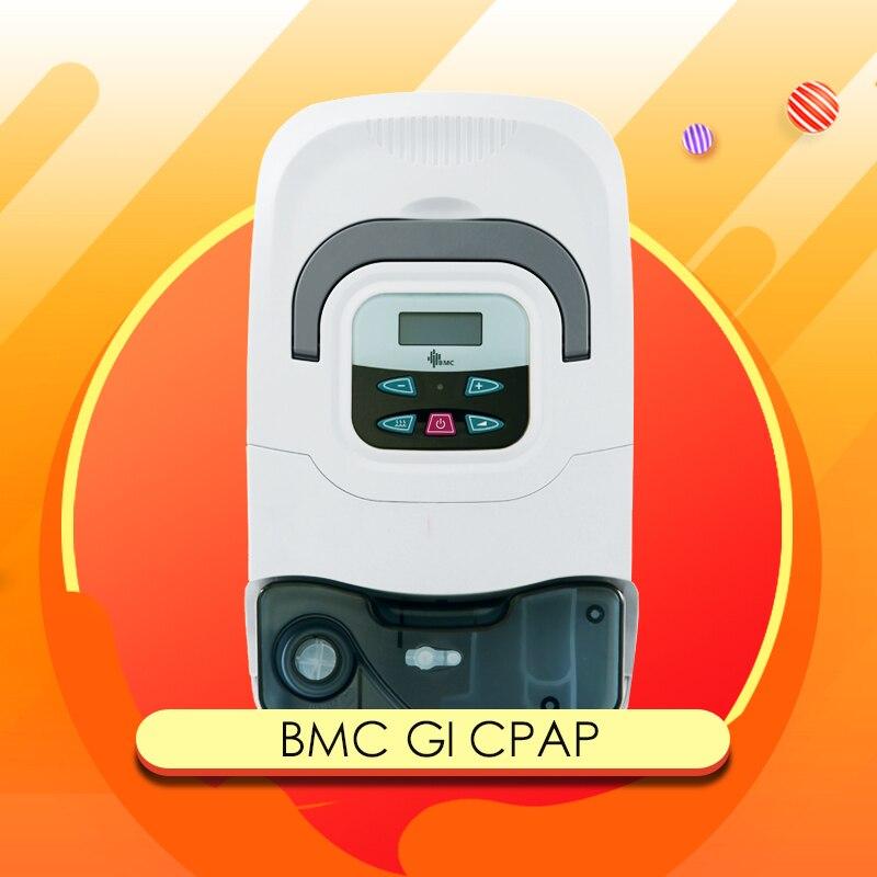 Doctodd GI portátil máquina de CPAP para Apnea del sueño OSAHS OSAS ronquido personas con envío máscara Headgear Tube bolsa SD tarjeta calidad superior
