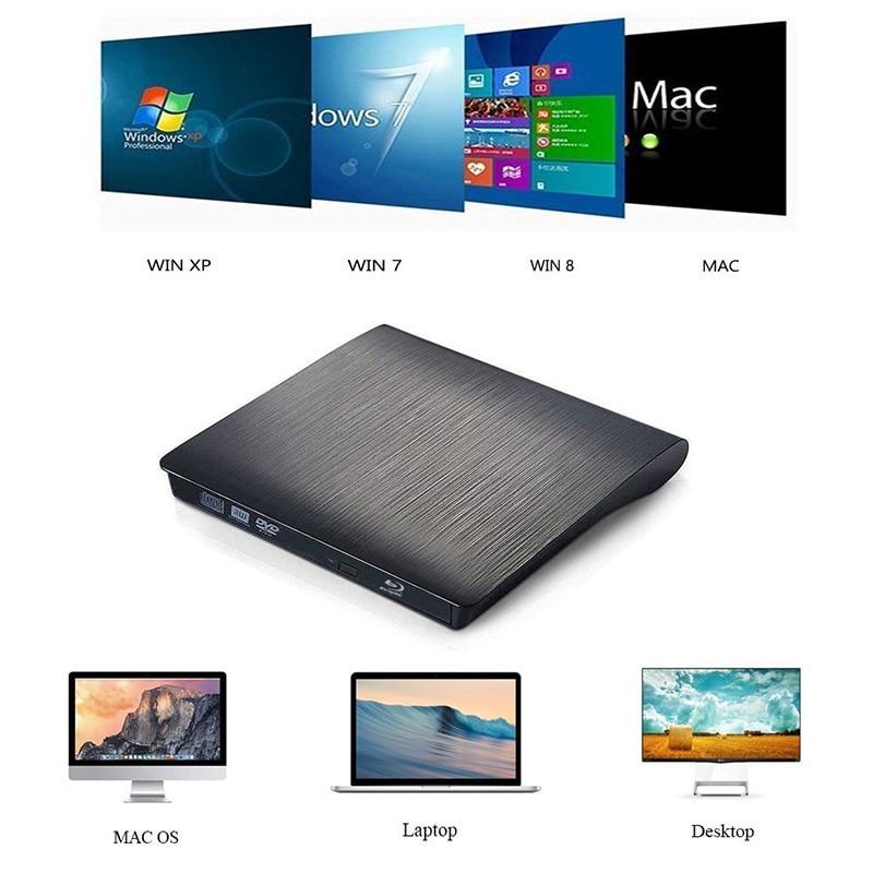 Bluray Player Unidad óptica externa USB 3.0 Blu-ray Grabadora - Componentes informáticos - foto 4