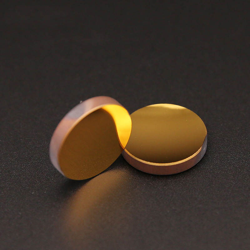 Gold-plated plane mirror / Reflectance: >99.5% / Metal mirror D6mm -25.4mm T3mm-8mmGold-plated plane mirror / Reflectance: >99.5% / Metal mirror D6mm -25.4mm T3mm-8mm