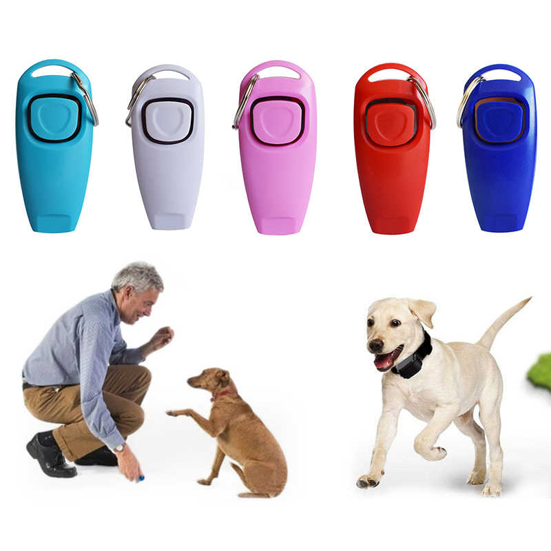 2019 NEW Dog Training Whistle Clicker Pet Dog Trainer Aid Guide Dog Supplies