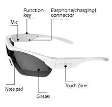 SmartSunglasses Bluetooth Headset Headphone WirelessBluetooth Stereo Sunglasses Glasses Handfree Outdoor Earphone For Smartphone