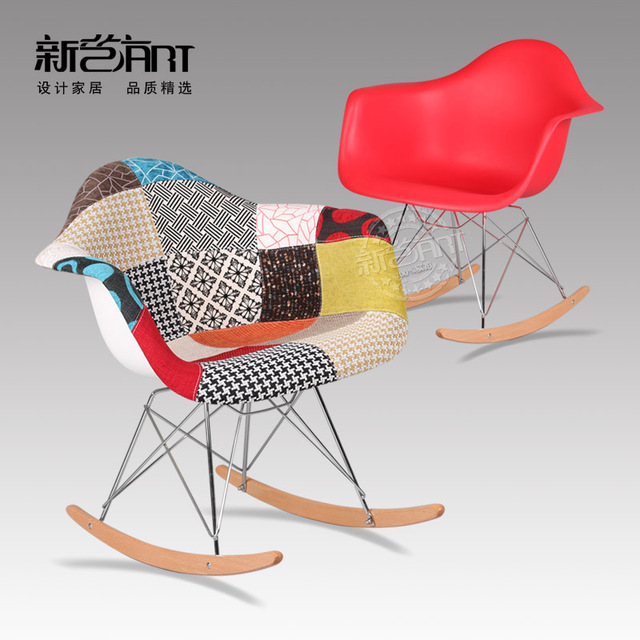 Eames Rocking Chair Nursing Feeding Chair Leisure Chair Designer Simple Fashion Creative Personality Rocking Chair Outlet