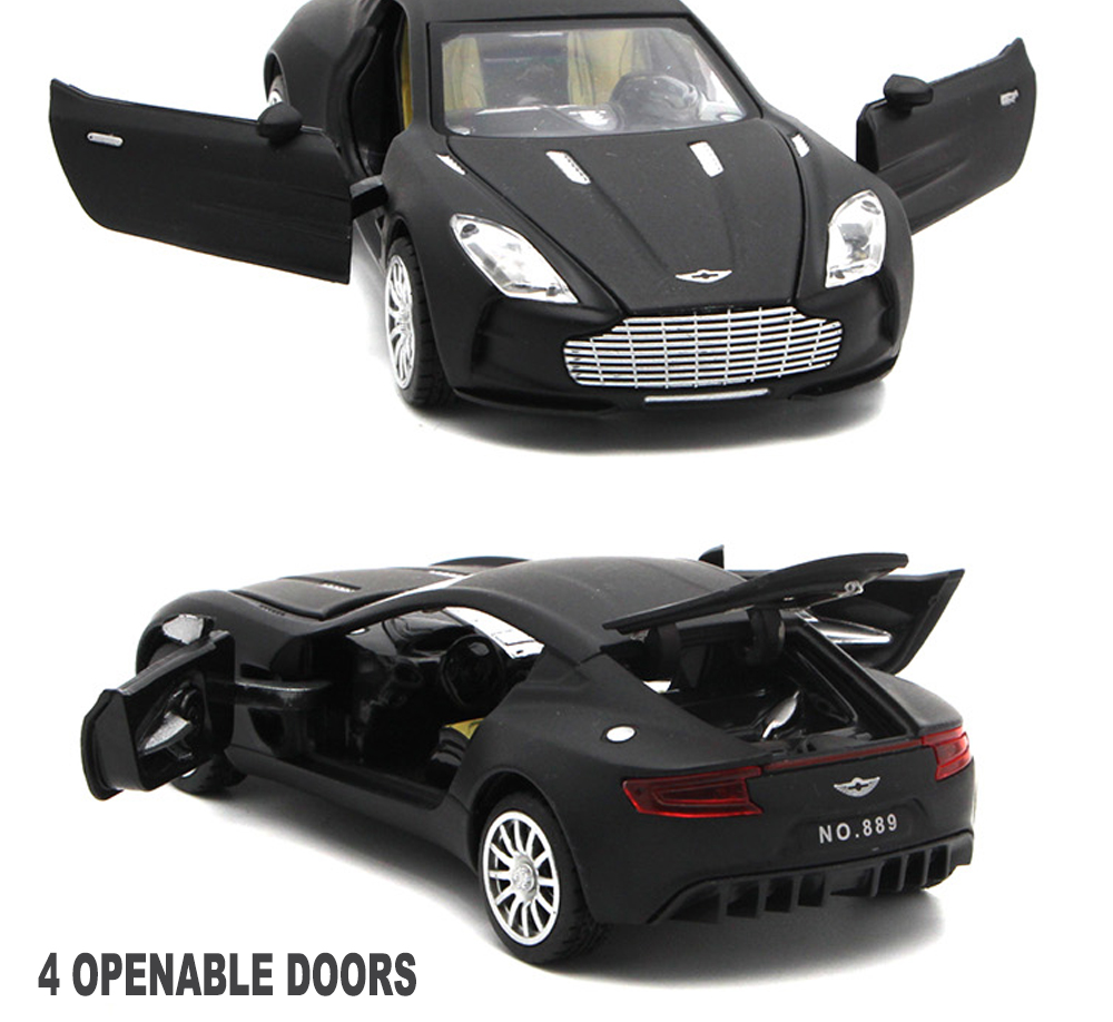 Aston Martin One-77 Toy Cars 15cm 16