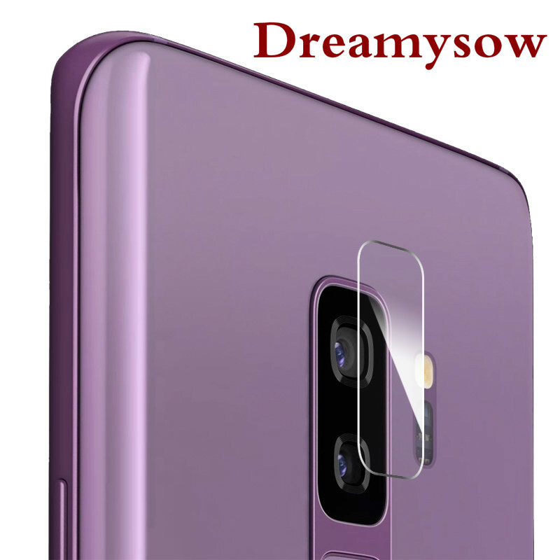 Dreamysow For Samsung Galaxy Note 8 S8 S9 Plus S7 Edge S6 Edge Note 3/4/5 C7Pro Back Camera Lens Protective Glass Tempered Glass