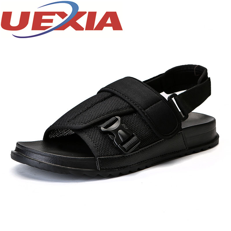 Summer Outdoor Sandals Shoes For Men Casual Breathable Water Shoes Male Beach Sandalias Hombre Men Shoes Flip-Flop Zapatos Homme