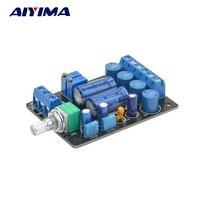 Aiyima TA2024B Amplificatore Consiglio Dual Channel Bordo Amplificatore Digitale Altoparlante Del Computer Audio Power Amp Module DC 12 V Power Supply