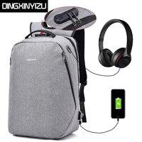 Waterproof Men Backpacks Anti Thief Large Capacity 15 6 Inch Laptop Backpack Casual Style Man Rucksack