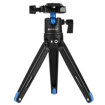 крепление на телефон | PULUZ 360 градусов шариковая головка Регулируемый Настольный штатив крепление для DSLR камеры/телефона/GoPro спортивной камеры