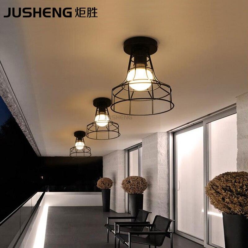 Bağlı müasir dəmir Nordic yaradıcı qara rəngli tavan lampası - Daxili işıqlandırma - Fotoqrafiya 2