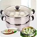 Cooking Tools Thickening Stainless Steel Steamer 20-30CM General Food Steamer Basket Multi-purpose Soup Pot Steaming Rack