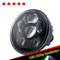 Black Harleys Led Motorcycle Headlight Driving Light 5.75 inch 5-3/4 Moto lightings With DOT SAE EMARK Approved Free Shipping
