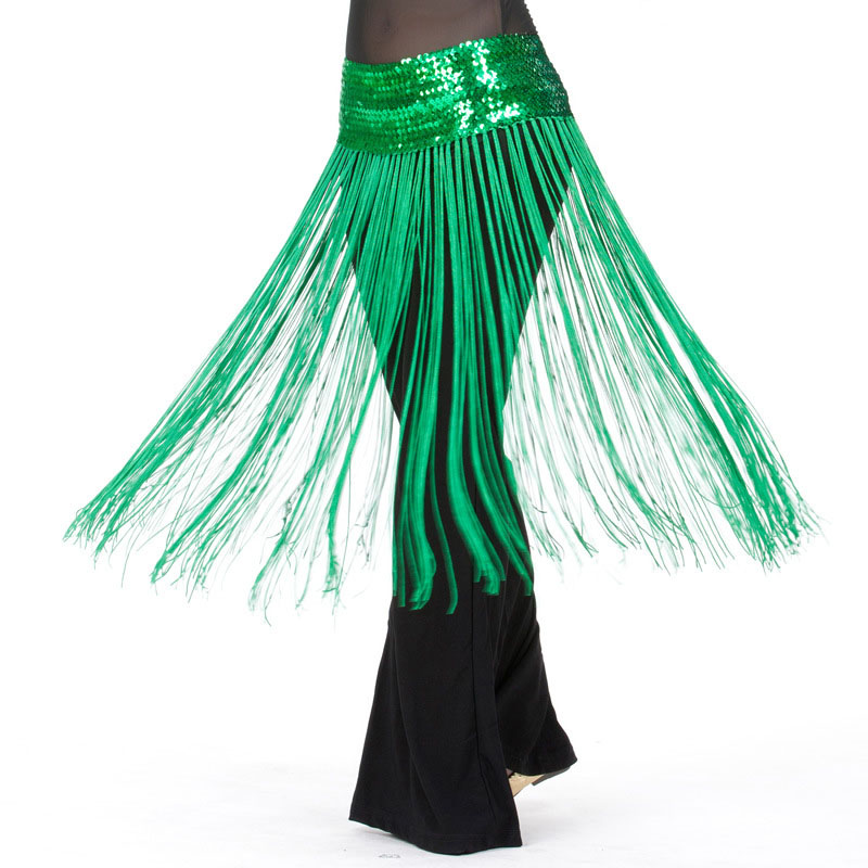Adult Fringe Sequin Oriental Belly Dance Costumes Belt For Sale Women Dancing Hip Scarf Scarves Bellydance Accessories Clothes