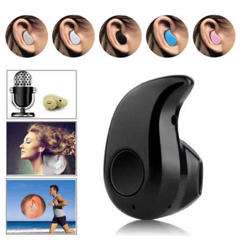 Mini Wireless Bluetooth 4.0 Stereo In-Ear Headset Earphone For Samsung iphone original xiaomi hybrid earphone 1more mi headphones headset 2 unit in ear circle iron mixed piston 4 for iphone samsung lg htc