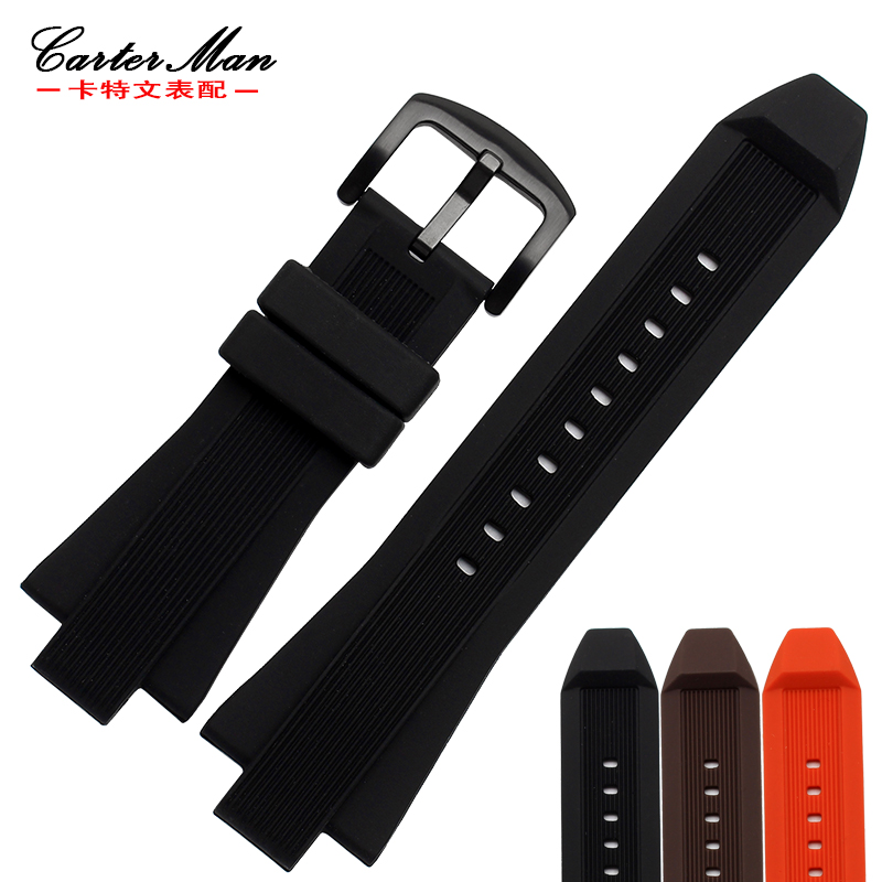 New Arrived 29*13MM High Quality Rubber Watchband Silicone Strap For MK8152 Watch Bracelet Free Shipping