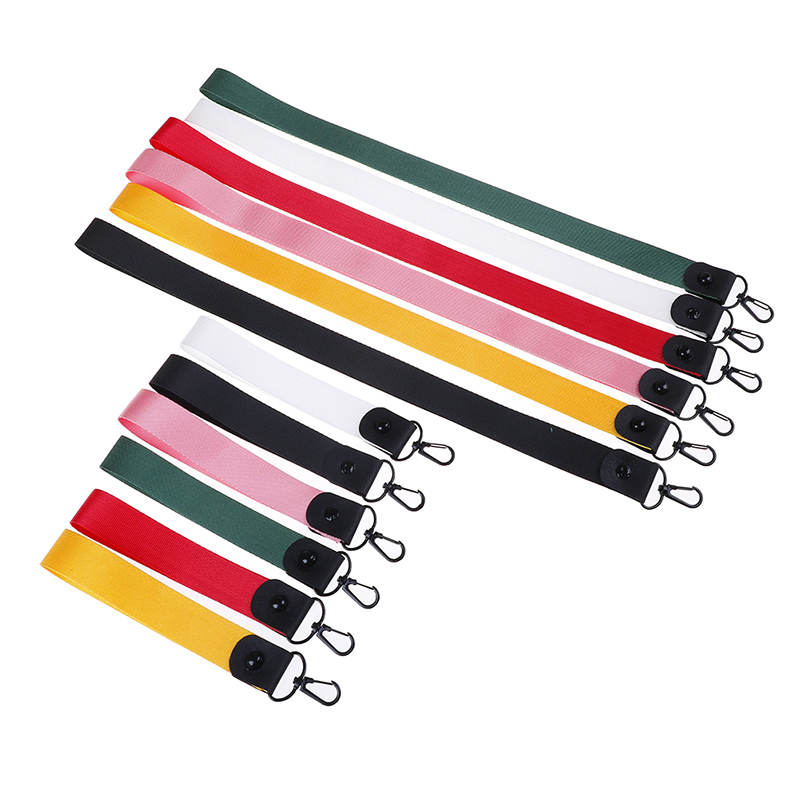 Keychain Tag Strap Neck Straps Lanyards For Keys ID Card Pass Gym Mobile Phone USB Badge Holder DIY Hang Rope