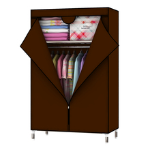 Bedroom Furniture Oxford Cloth Cabinets Bold Reinforcement Steel Pipe Closet DIY Storage Finishing Size: L88 * D45 * H160cm
