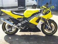 Лидер продаж, для Yamaha YZF1000 R1 2000 2001 YZF R1 00 01 YZF R1 YZF R1 желтый черный, белый цвет мотоциклов Обтекатели (литья под давлением)
