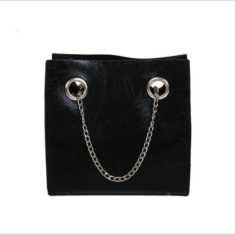 2018 mode frauen Handtaschen Casual Einzigen Schulter Handtasche Schöne Schwarz Weiß Rot Frauen Tasche Luxus Leder Frauen Handtasche