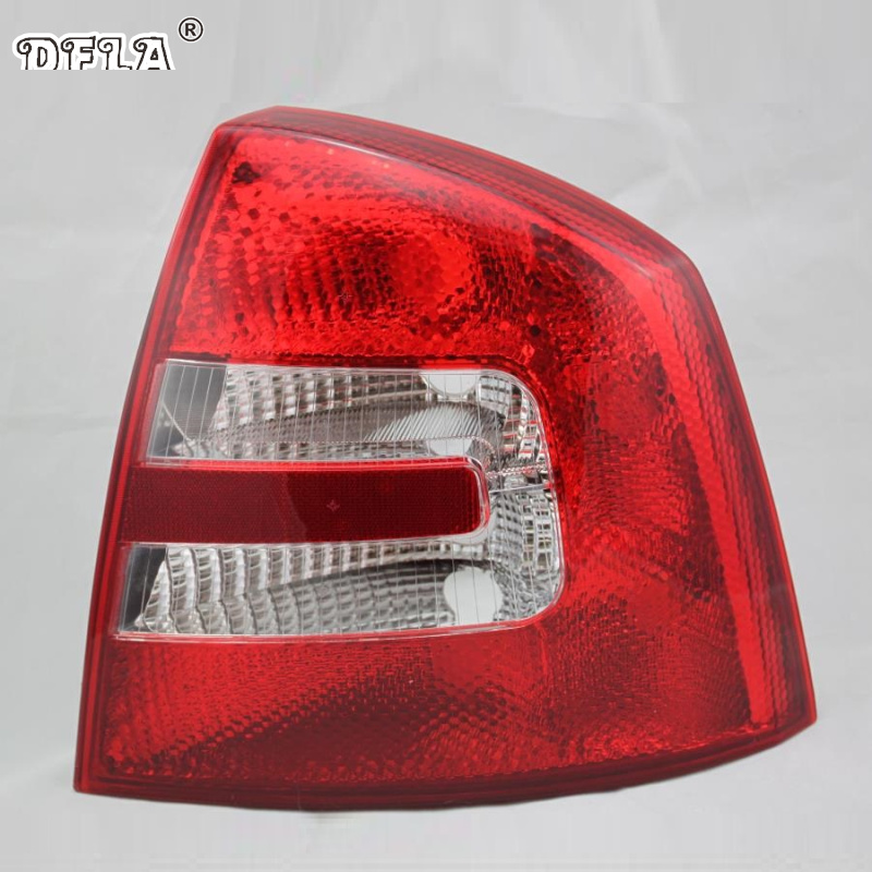 Car Light For Skoda Octavia A5 2004 2005 2006 2007 2008 Car-Styling Rear Tail Light Lamp Right Passenger Side LHD rear driver passenger side tail light brake lamp for nissan patrol gu 4 5 6 7 8 2005 2006 2007 2008 2009 2010 2011 2012 2016