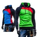 Hot Sale Autumn Men Hoodies Casual Hoody Sweatshirt Men Fashion Patchwork Brand Hoodie Jacket Man Pullovers Sportswear M-3XL