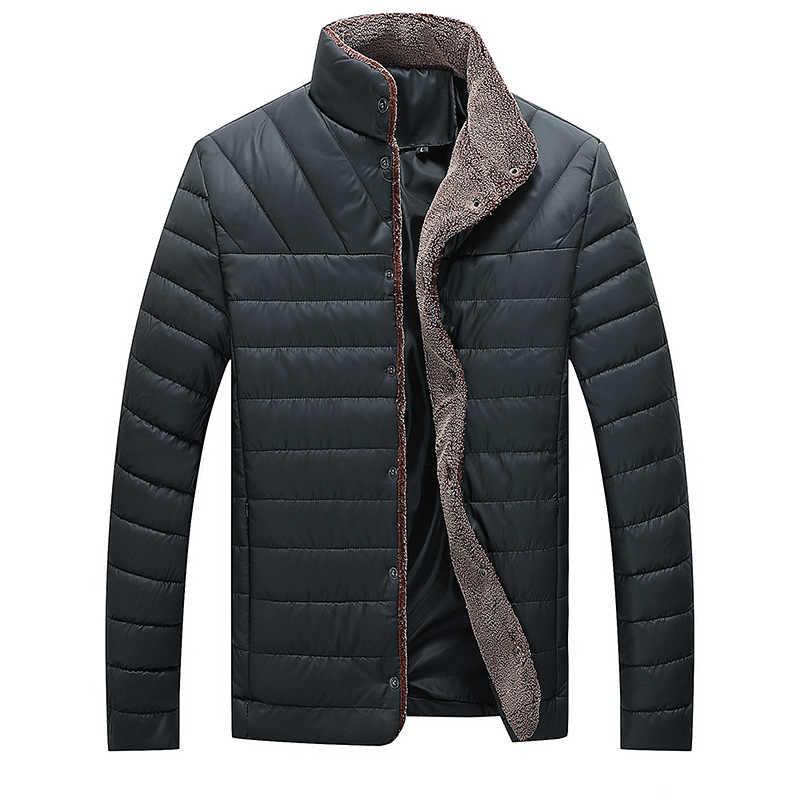 2019 秋冬メンズ暖かいジャケットカジュアルパーカーメンズコートシングルブレスト上着メンズブランド服 5XL