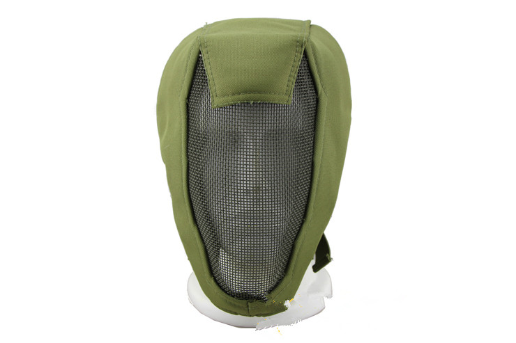 Face Mask Three Generations V3 TMC Is Also Powerful Full-face Protective Mask Iron Mesh Fencing Mask Army Green(China)