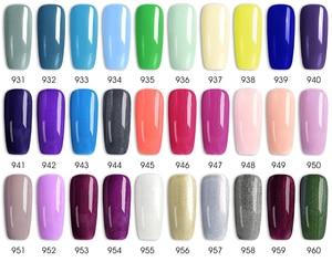 Image 5 - 62pcs*7.5ml VENALISA Gel Polish Nail Art Salon Manicure Wholesale Soak off Base No Sticky Topcoat UV LED Nail Gel Varnish Kits