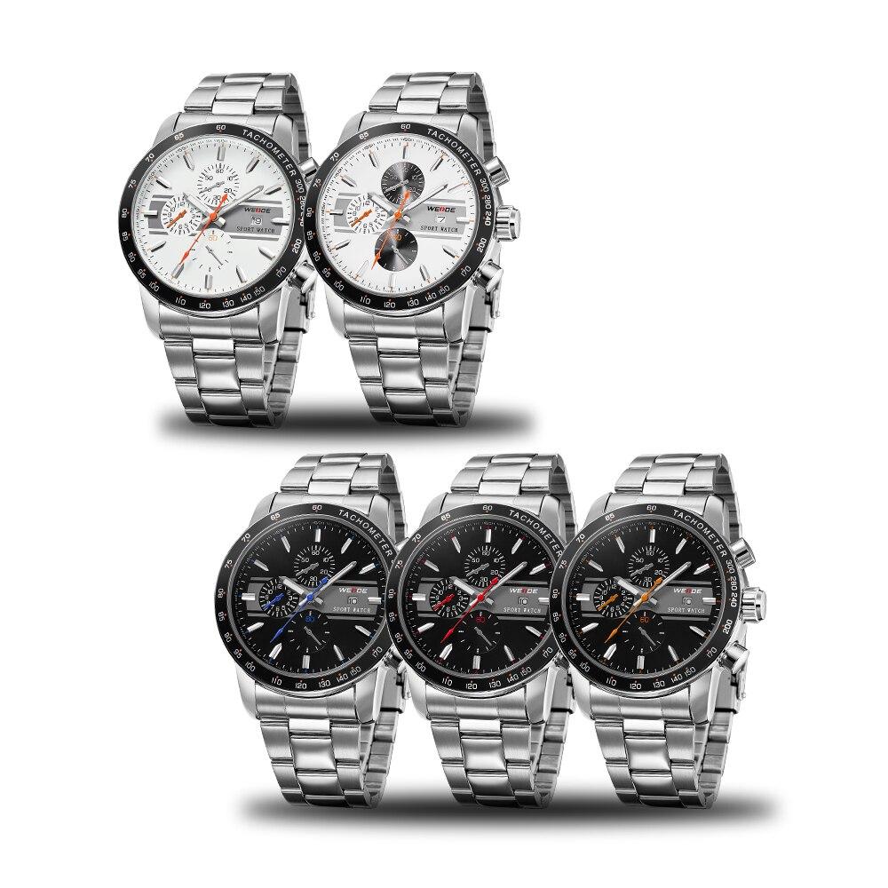 Weide 2017 topquartz reloj deportivo reloj casual genuino papel de - Relojes para hombres - foto 5