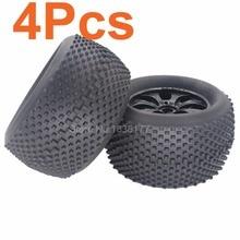 4 unids 140mm RC 2.8 Ruedas 1/8 Neumáticos Para Camiones Monstruo 17mm Hexagonal hub para off road 4wd nitro hsp tornado e9 94083 piezas