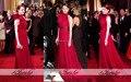 Новое поступление эмма стоун одно плечо молния назад красный формальный повод платье 84-й церемонии вручения премии Vestidos FE0148