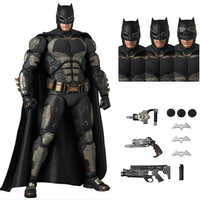 MAFEX 056 Batman Tactical SUIT Ver. The Dark KNight DC Justice League PVC Action Figure Collectible Model Toy 16cm