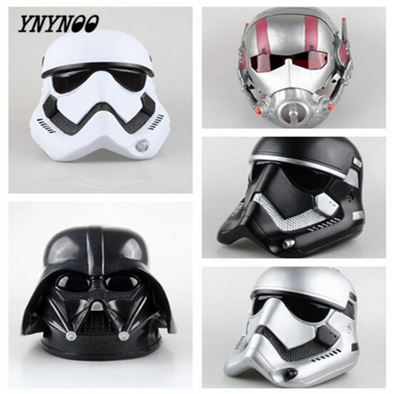 YNYNOO 1:1 High Quality Star Wars mask Halmet Darth Vader Empire Storm Clone trooper helmet black warrior Empire soldiers airsoft adults cs field game skeleton warrior skull paintball mask