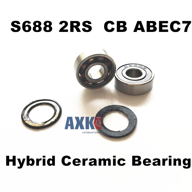 Free Shipping For SPECIALIZED STUMPJUMPER FSR '05 HORST PIVOT  4PCS S688 2RS  CB ABEC7 8X16X5mm Stainless Steel Hybrid Ceramic free shipping 50pcs lot miniature bearing 688 688 2rs 688 rs l1680 8x16x5 mm high precise bearing usded for toy machine