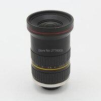 8MP 20mm HD Fixed Focus Manual IRIS CS C Mount Lens for CCTV Camera Industry Microscope Camera