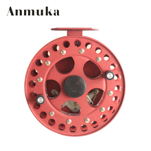 Anmuka HF125 Alloy 12.5cm diameter Ice Fishing Reel Fishing Vessel Wheel raft fishing tackle