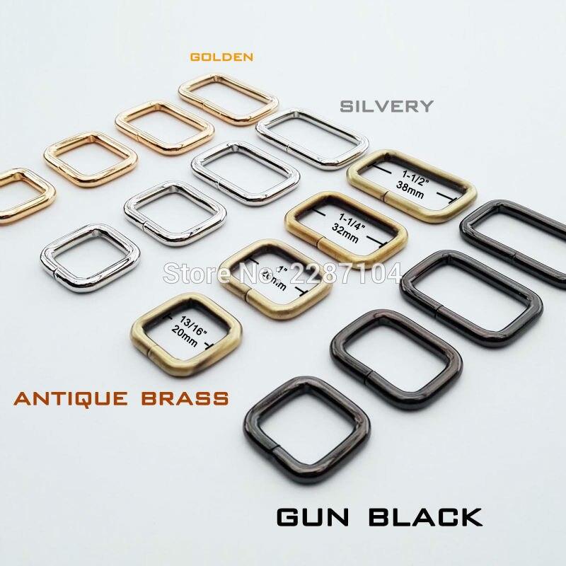 Oval Loop Ring Metal Wire formed Handbag Bag Bag for 20mm 25mm 32mm webbing