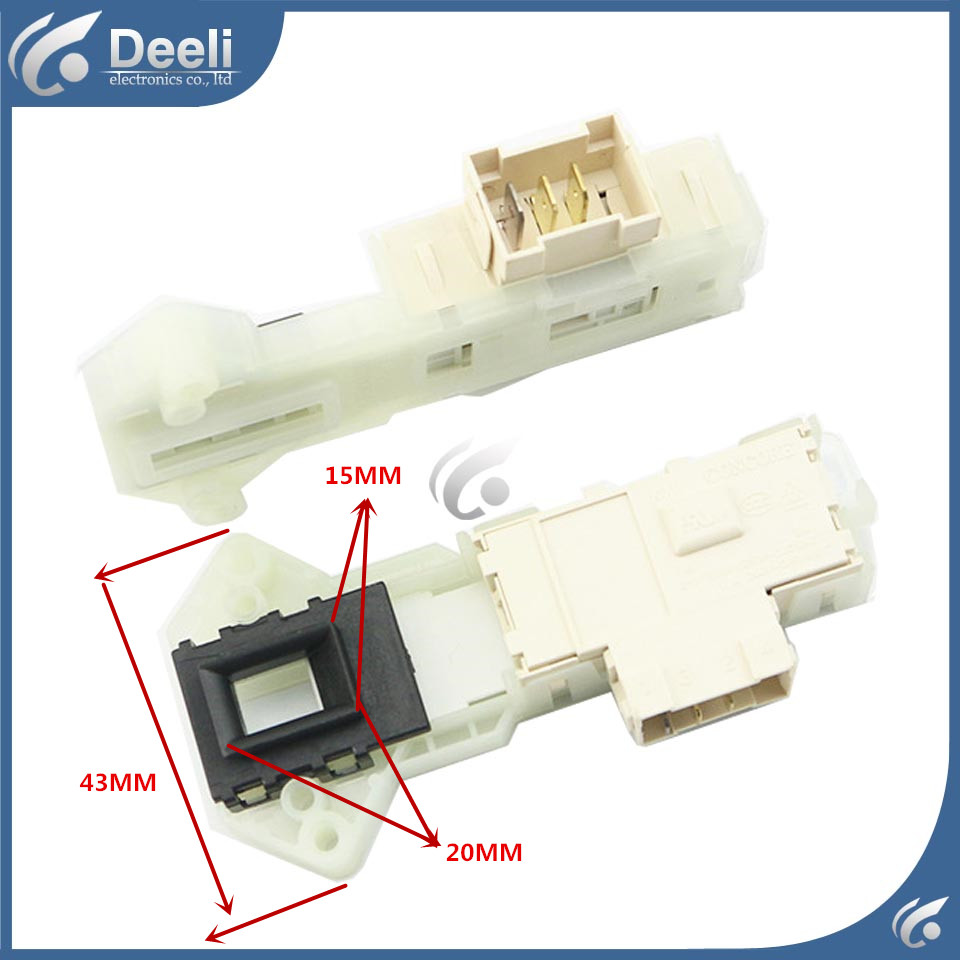 NEW Original for Midea washing machine electronic door lock delay switch electronic door lock MG52-8001 RG52-1002 53-8031 original 95% new used for glanz washing machine blade electronic door lock delay switch