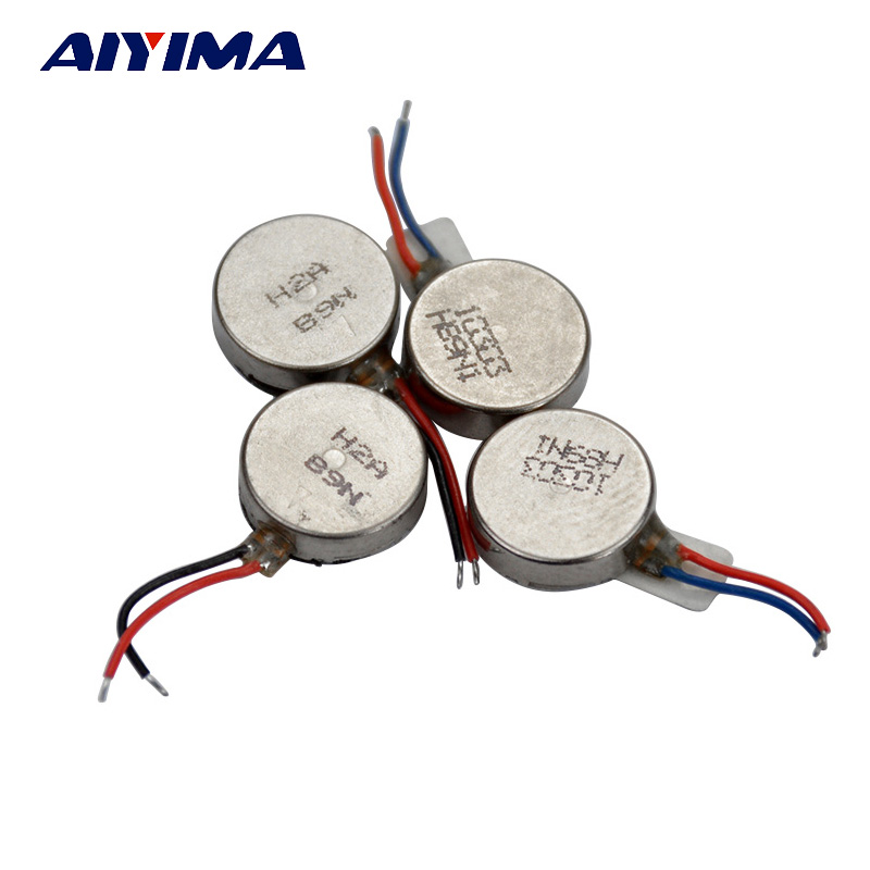 aiyima 10pcs vibration motor flat button type moteur 10 2 7mm for mobile phone tablet household. Black Bedroom Furniture Sets. Home Design Ideas