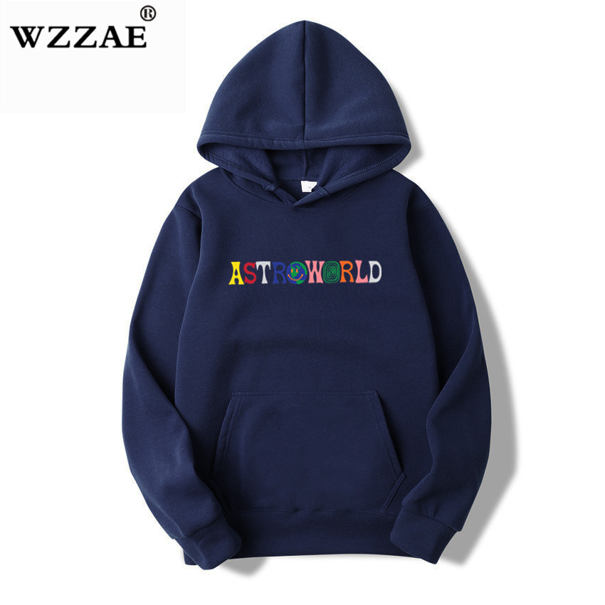 TRAVIS SCOTT ASTROWORLD WISH YOU WERE HERE HOODIES fashion letter ASTROWORLD HOODIE streetwear Man woman Pullover Sweatshirt 14