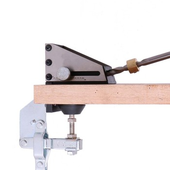 DIY Woodworking Oblique Hole Device Hole Puncher Guide Inclined Hole Locator Jig Drill Tools Step Drill Bit Carpenter Kit